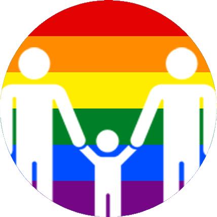 Darstellung von Regenbogenfamilien (R)